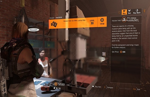 The Division 2 Dodge City Gunslinger Exotic Holster Quest Guide