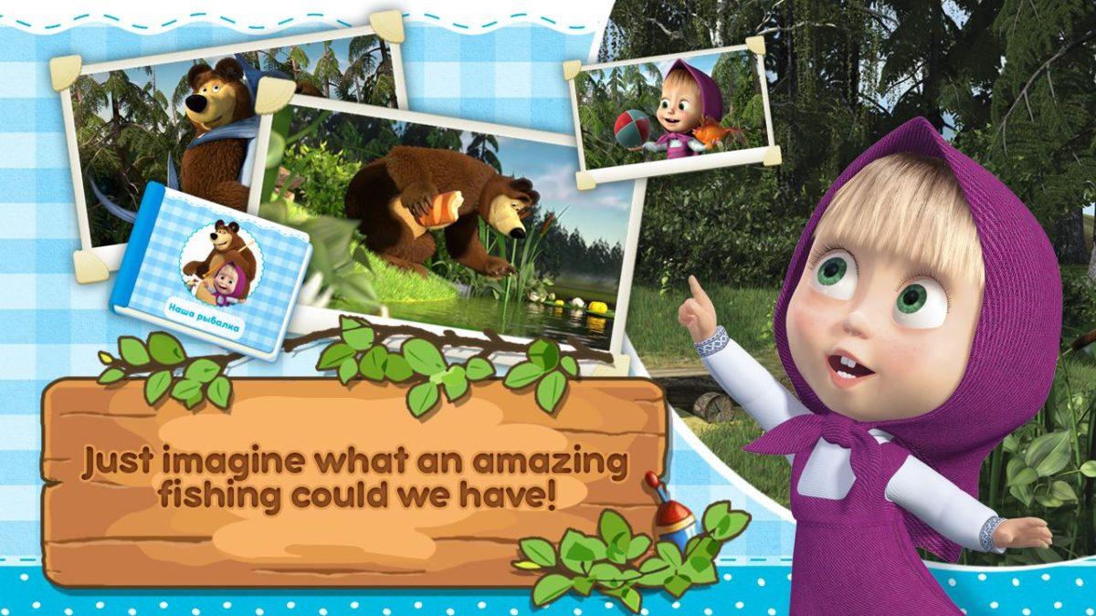 Masha And The Bear Educational Games