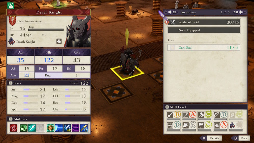 Fire Emblem: Three Houses Leaked Screenshot #2