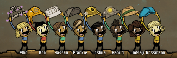 Oxygen Not Included Duplicants