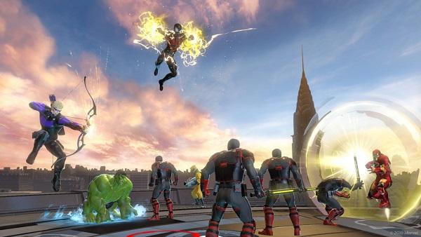 Marvel Ultimate Alliance 3 team options