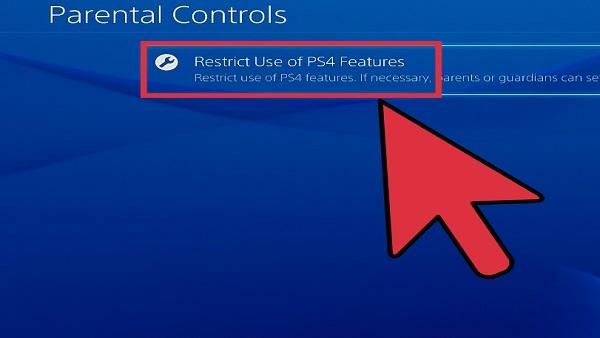 PS4 Parental Controls