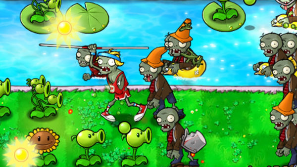 Plants vs Zombies Shooter