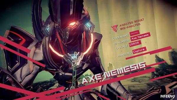 Astral Chain Axe Nemesis