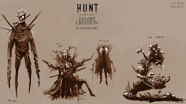 Hunt: Showdown monsters guide