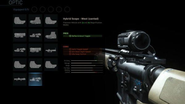Call Of Duty: Modern Warfare Create A Class