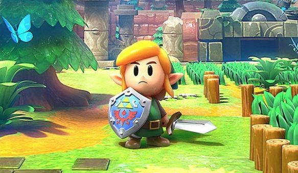Link's Awakening Sword and Shield Locations