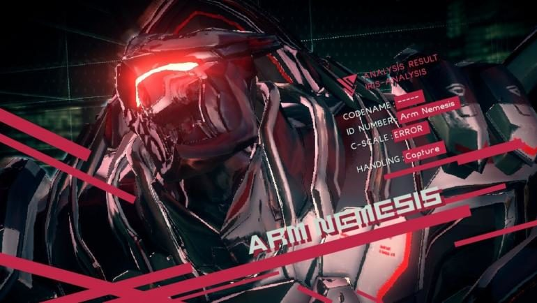Astral Chain Arm Nemesis Boss
