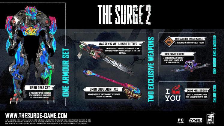Surge 2 URBN DLC