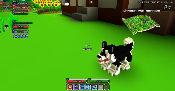 Cube World pet food