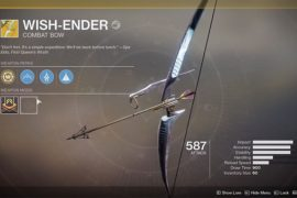Destiny 2 Wish Ender Exotic Bow Guide