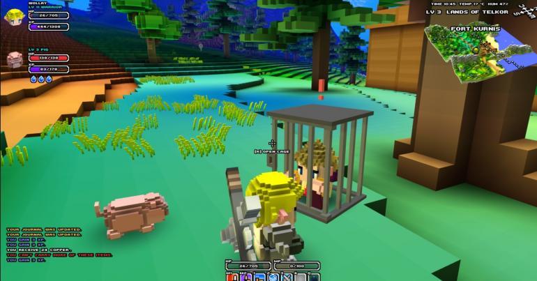 Cube World Pets