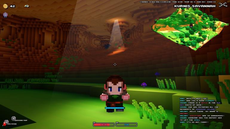Cube World Leveling