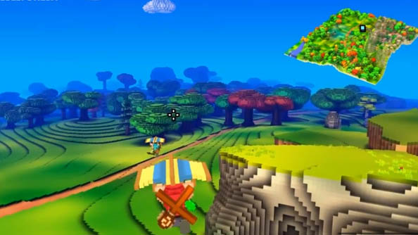 Cube World Hang Gliding