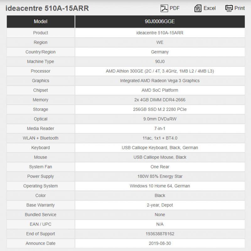 AMD Athlon 300GE
