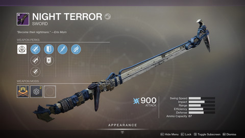 Moon Essence Sword