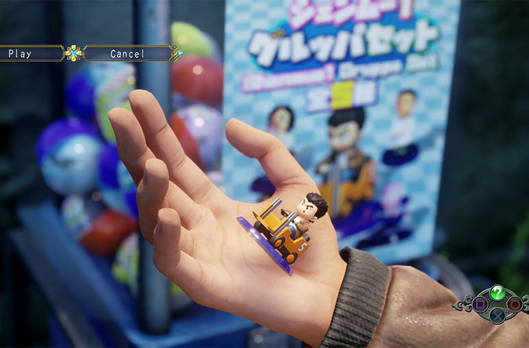 Shenmue 3 Capsule Collectibles