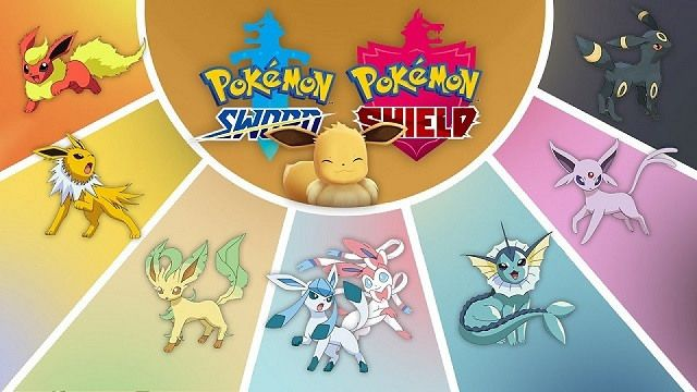 Pokemon Sword And Shield Eevee Evolutions