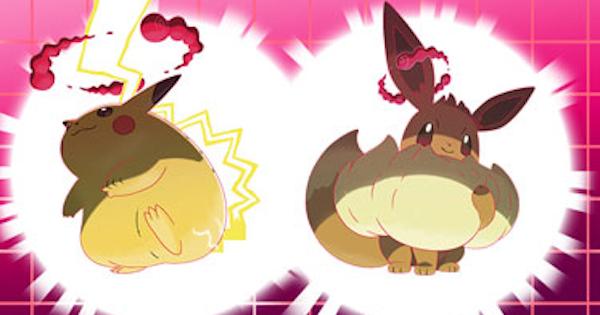 Gigantamax Pikachu And Evee