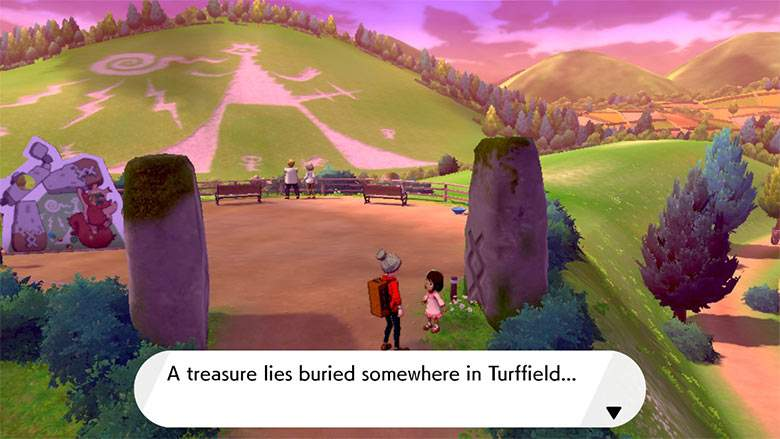 Pokemon Sword and Shield Turffield Riddle Puzzle
