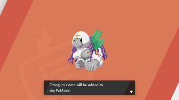 Pokémon Sword and Shield Oranguru