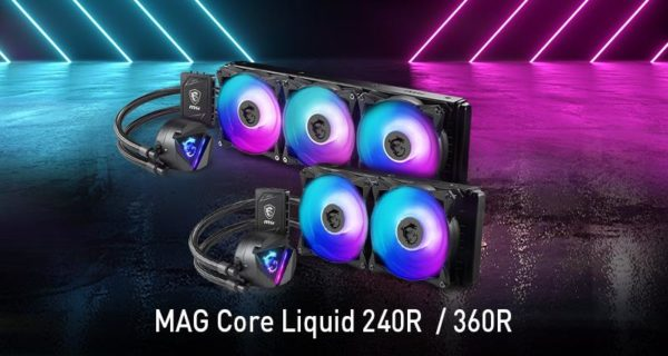 MSI MAG AIO Liquid Coolers CES 2020