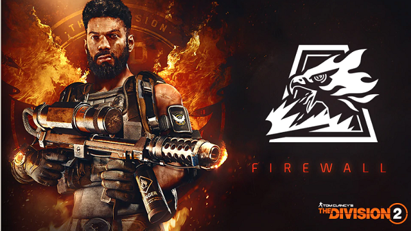 The Division 2 flamethrower