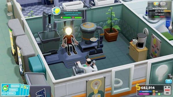 Two Point Hospital Career Goals Guide