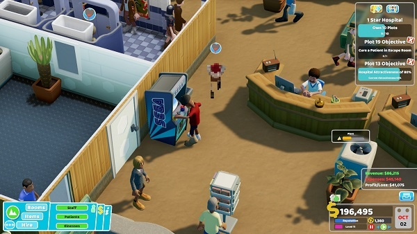How to Research and Cure Diseases in Two Point Hospital