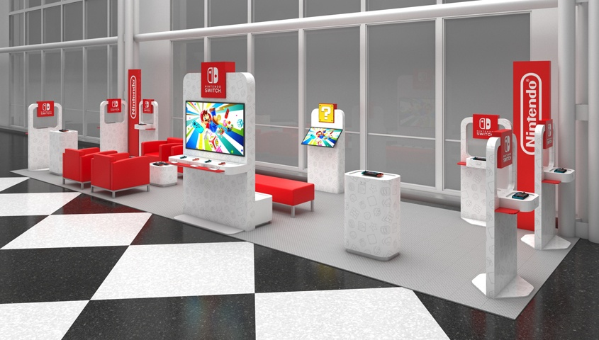Nintendo Switch Airport Lounges