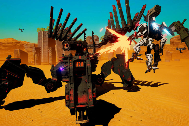 Daemon X Machina GunFort