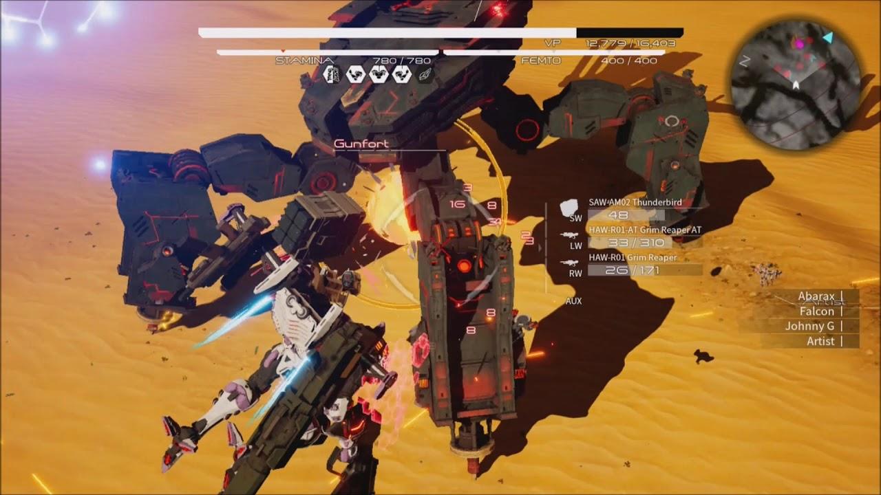 Daemon X Machina GunFort