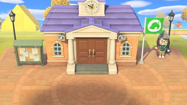 Animal Crossing: New Horizons Upgrade Town Hall