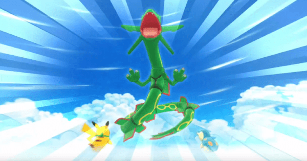Mystery Dungeon DX Rayquaza