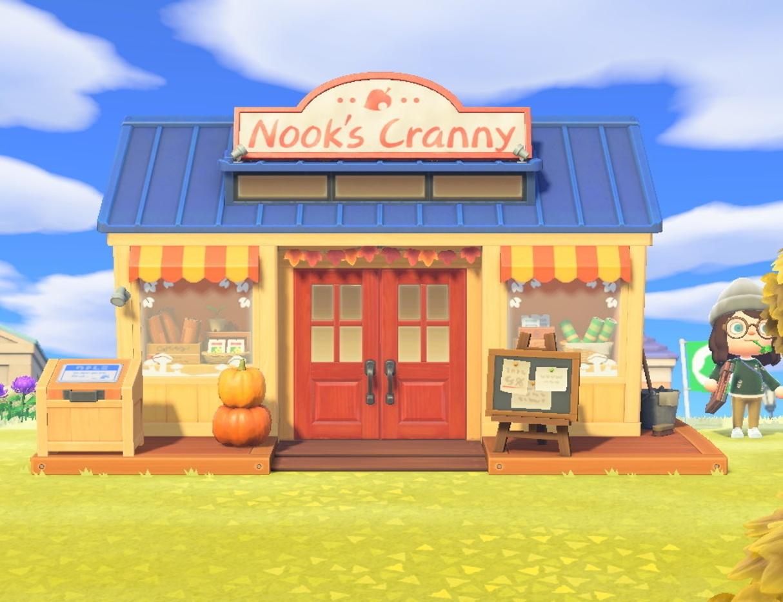 Nook's Cranny New Horizons