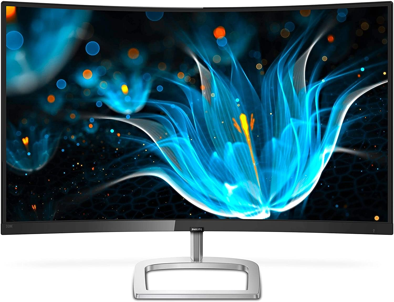 """Philips 27"""" Curved Frameless Monitor"""