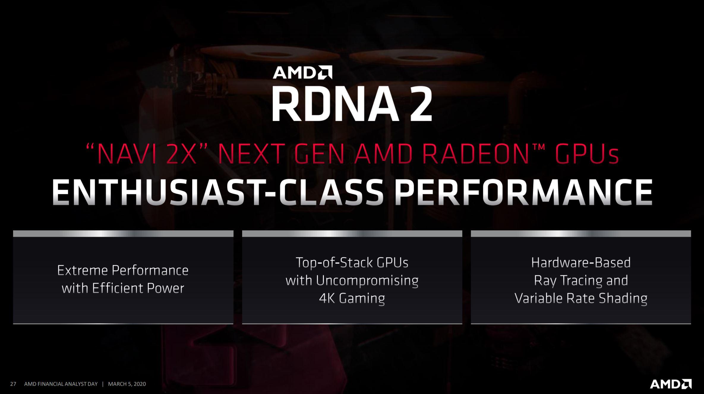AMD Navi RX 6000