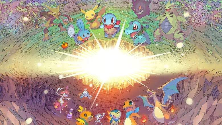 Pokemon Mystery Dungeon DX Starters