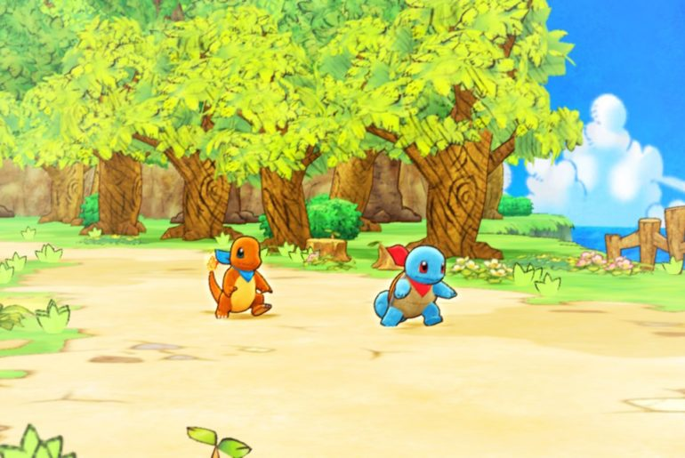 Pokemon Mystery Dungeon DX Recruit