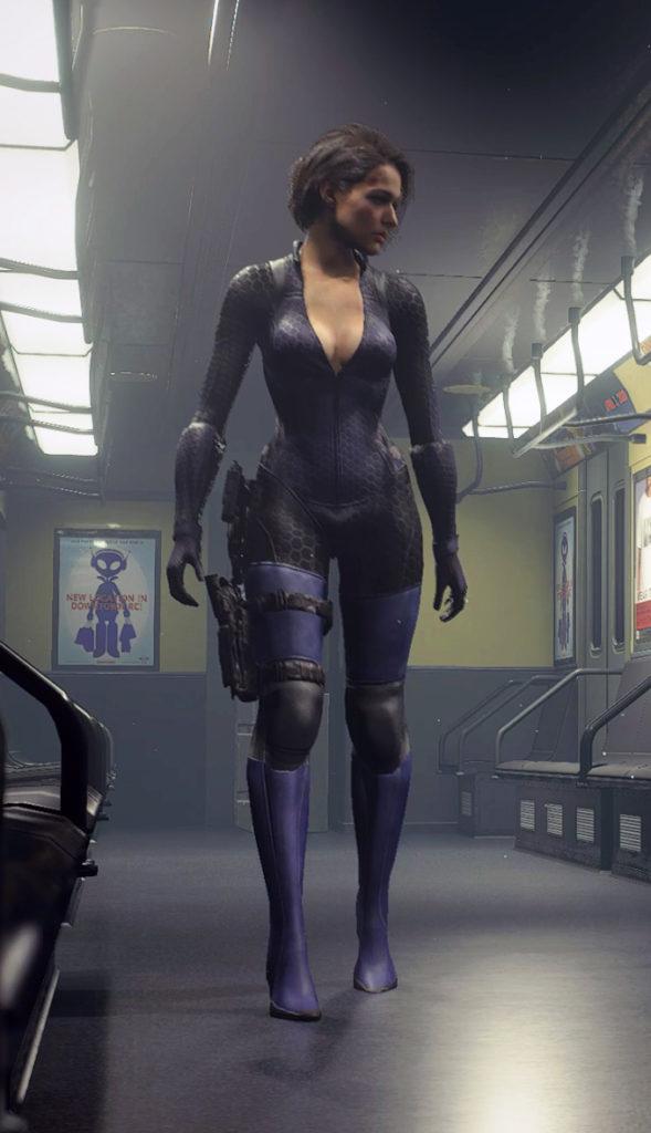 Jill Battlesuit Mod