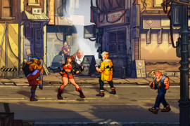 Streets of Rage 4 Unlock Characters