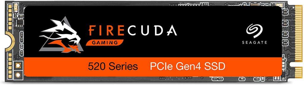 Seagate Firecuda 520 500GB Best PCIe Gen 4.0 SSDs