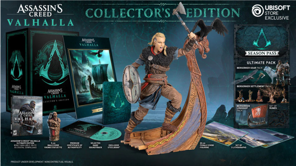 First Look Assassin S Creed Valhalla Collector S Edition And