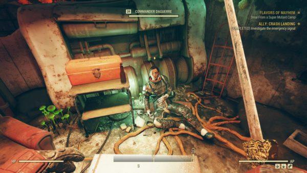 Fallout 76 Wastelanders Commander Daguerre