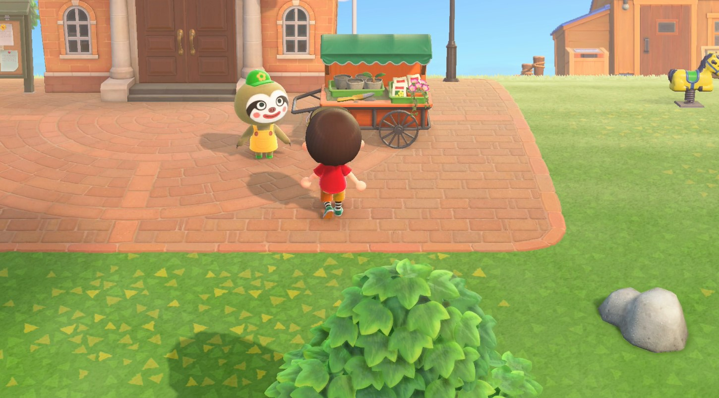 Animal Crossing New Horizons Shrub Starts