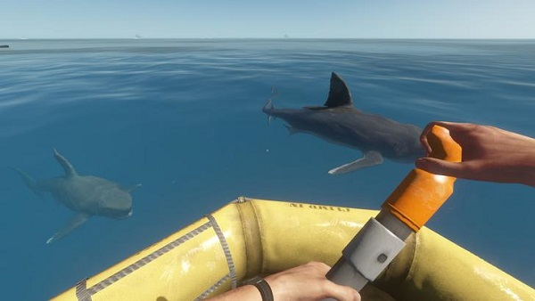 Stranded Deep Great White Sharks