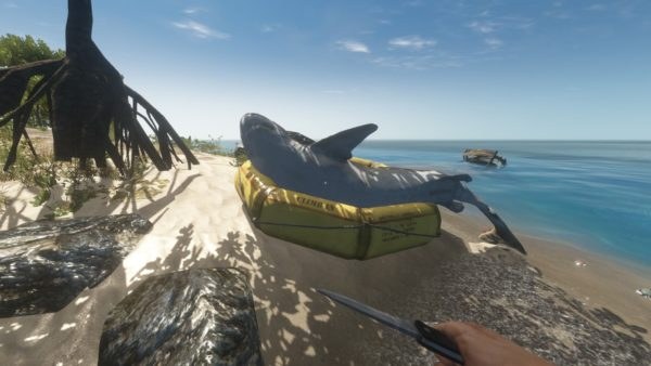 Stranded Deep food and water