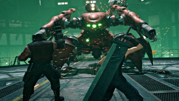 Final Fantasy 7 remake Scorpion Sentinel