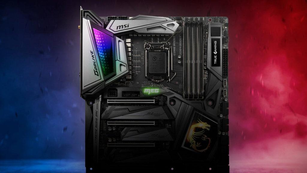 MSI MEG Z490 Motherboards