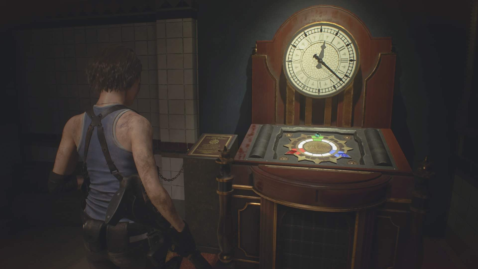 Resident Evil 3 Subway Monument Puzzle